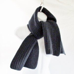 MICHAEL KORS 100% Thick WOOL Ribbed Knit SCARF